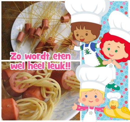 Knakworst Spaghetti