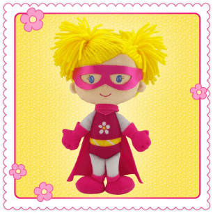 Knuffel Superheld